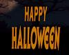 Floating Halloween Sign