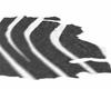 zebra no pose rug