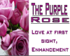 what purple roses mean