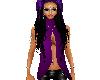 sexy purpletop long