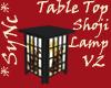 *Sync TableTop Shoji V2
