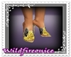 Yellow Rose Heels Shoes