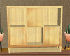 Retro Bamboo Cabinet