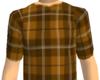 [W]Brown Plaid T&Sweats