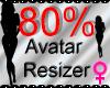 *M* Avatar Scaler 80%