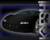 12 Pose Black Sports Car