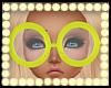 ღNeon Zebra Glassesღ