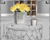 YELLOW ROSES TABLE