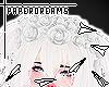 ▻ Wht Rose Crown