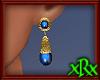 Vintage Blue Earrings