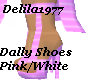 Dally Pink/White Shoes