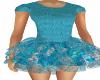 Lil Mz Beth Blue Dress