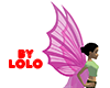 Queen Fairy Wings pink
