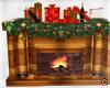 !© Christmas Fireplace