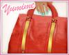 [Y] Gold & Tangerine Bag