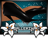 Ballet boots -blk-