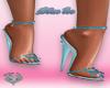 Blue Ice Heels