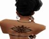 crown back tattoo
