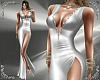 T- Gown silver dress