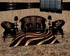 carmel swirl couch set