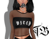 Witch Fishnet Top
