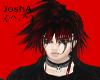 JA{^.^} Blk/Red Hair