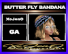 BUTTER FLY BANDANA