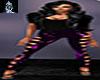 Purple Hearts Leggings