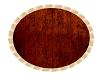 cream & rust rug