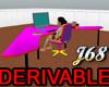 J68 Derivable Desk