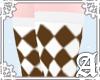 Diamond Socks~ Brown