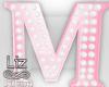 Baby Shower letter M
