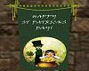 St Patty Wall Banner