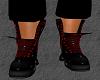 Mens RED toxic DJ  boots