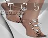 Mirela feet jewels