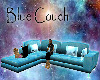 Blue Couch with poses