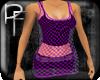 (PF)Dbl Fishnet Purple