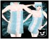 [PP] Towel White Blue