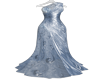 ! INAYAH GOWN BLUE