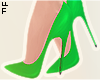 |L Green Pumps