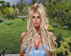Blonde highlights long