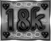 18k SUPPORT STICKER