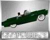 Jumping car green