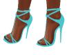Reina Light Blue Heels
