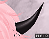 🅜 COW: black horns 2