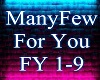 ManyFew For You