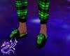 M* Green S Skull Slipper