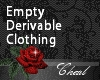 Empty Derivable Clothing