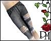 [PBM] Knee Shorts Denim