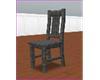 {p}Grey kitchen chair